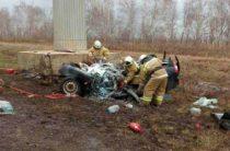 В Самарской области «Приора» вылетела в кювет, погибли два человека