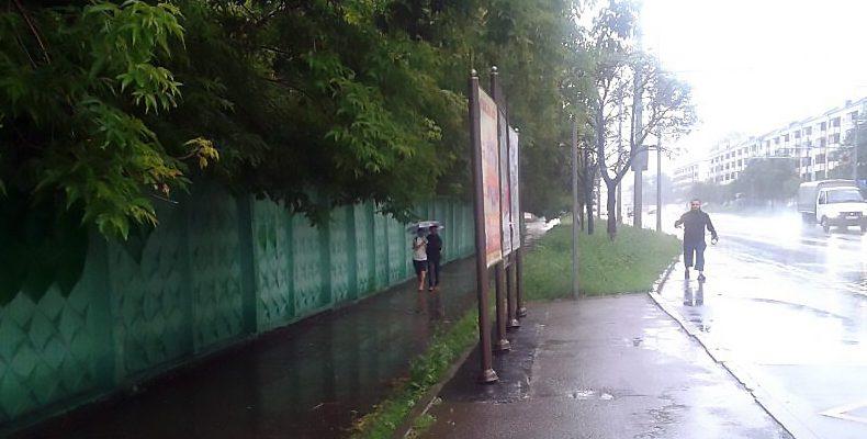 Завтра в Казани ожидаются дождь и сильный ветер
