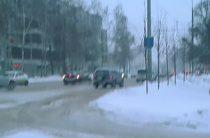 «Форд Турнео» и «Шевроле Нива» столкнулись в Казани