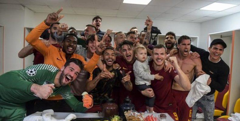 «Рома» разгромила «Барселону» Месси и выбила ее из Лиги чемпионов