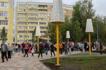 На улице Фучика в Казани открылся новый бульвар