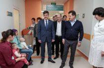 Сегодня Метшин посетил обновленный филиал детской поликлиники №10