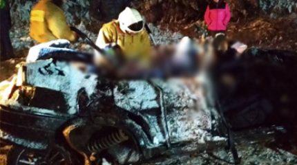 В Татарстане ВАЗ врезался в КАМАЗ, погибли двое взрослых и трое детей