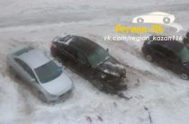 В Казани подожгли припаркованный во дворе «БМВ Х6»