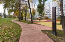 В Казани появился новый благоустроенный сквер