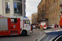 В Санкт-Петербурге произошел пожар в торговом центре