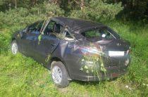 В Башкирии водитель на «Гранте» опрокинулся в кювет, погибла женщина