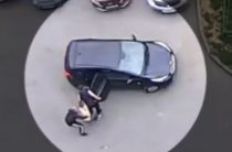 В Казани неизвестные избили и похитили человека (Видео)