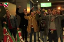 Болельщики «Рубина» встретили команду в аэропорту