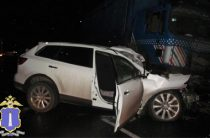 В Ульяновской области водитель и пассажир «Мазды» погибли в столкновении с фурой