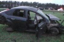 В Татарстане мужчина на Ford Focus погиб, перевернувшись в кювет