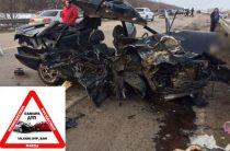 В Самарской области водитель ВАЗа на встречке врезался в «Ниссан», погибли три человека