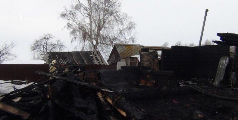В Ульяновской области в пожаре погибли трое детей