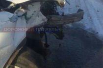 В Башкирии два человека пострадали при лобовом столкновении двух иномарок