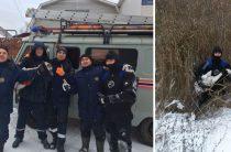 Казанские спасатели вызволили трех лебедей из ледового плена