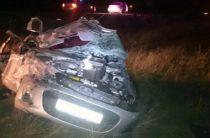 В Башкирии «Калина» опрокинулась в кювет, погибли водитель и пассажир