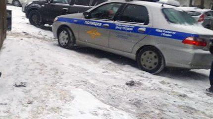 В Казани пассажирский автобус врезался в «Митсубиси»