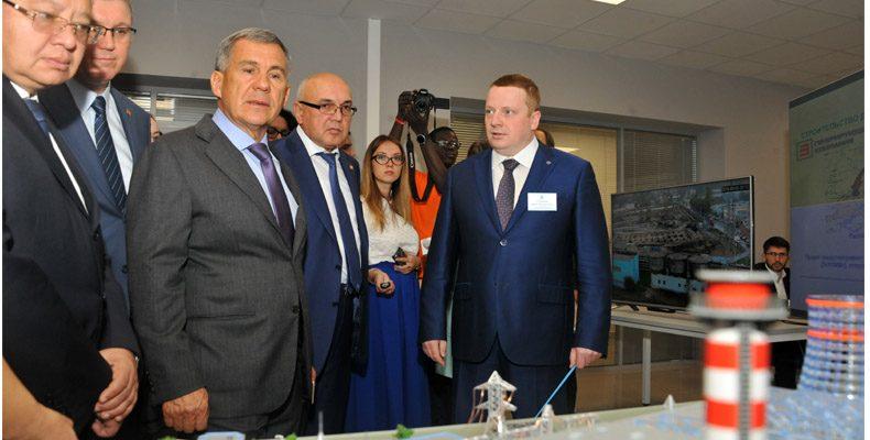 В Казани торжественно открылось новое здание «Энергопрогресса»