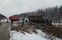 В Коми столкнулись школьный автобус и лесовоз, погибли три человека