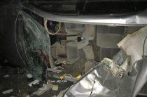 В Новосибирске «Тойоте» в результате ДТП оторвало крышу (Фото)