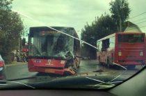 В Казани столкнулись автобусы 30 и 49 маршрутов