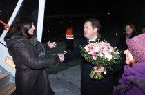 Мэр Парижа прибыла в Казань