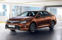 В России представлена обновленная Toyota Camry