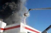 В Татарстане произошел пожар на заводе POZIS