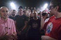 Менее чем за сутки баттл Oxxxymiron против Гнойного набрал почти 6 млн просмотров