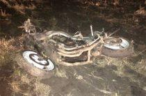 В Татарстане мотоциклист опрокинулся в кювет, погибли два человека