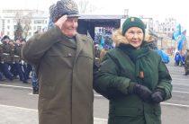 Фарид Мухаметшин принял участие в Параде Памяти, посвященном 77-ой годовщине Военного парада