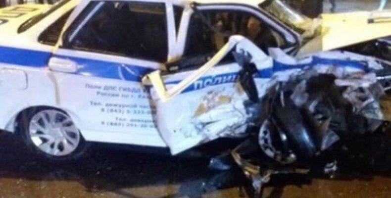 В Казани осудили водителя протаранившего автомобиль ДПС, где погиб инспектор