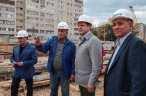 Ильсур Метшин побывал на стройке станции метро «Дубравная»