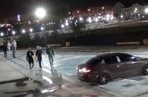 В Татарстане поймали и лишили прав водителя катавшегося по фонтану
