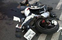 В Казани водитель автомобиля сбил мотоциклиста