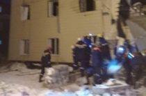 В Красноярске в жилом доме произошел взрыв, под завалами найдено тело женщины