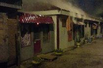 Этой ночью в Казани сгорел торговый павильон