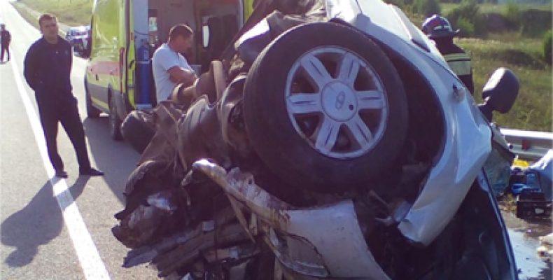 В Татарстане «Ларгус» врезался в «Шевроле», погибли четыре человека