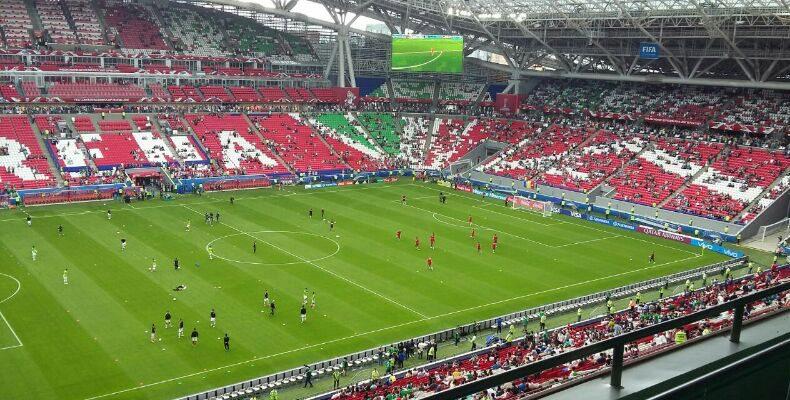 Начались продажи на матч сборных России и Ирана в Казани