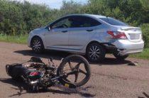 В Бирском районе Башкирии мотоциклист погиб в ДТП