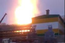 В Нижнекамске горит один из комплексов ТАИФ-НК