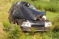 В Оренбургской области пьяный водитель вылетел в кювет, погиб пассажир