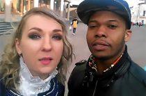 На улице Баумана в Казани француз спел песню на татарском (Видео)