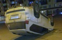 В Башкортостане «Тойота» с татарстанскими номерами перевернулась после столкновения с «Киа»