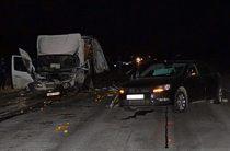 Две девушки пострадали при столкновении «Хонды», «Фольксвагена» и «Газели»