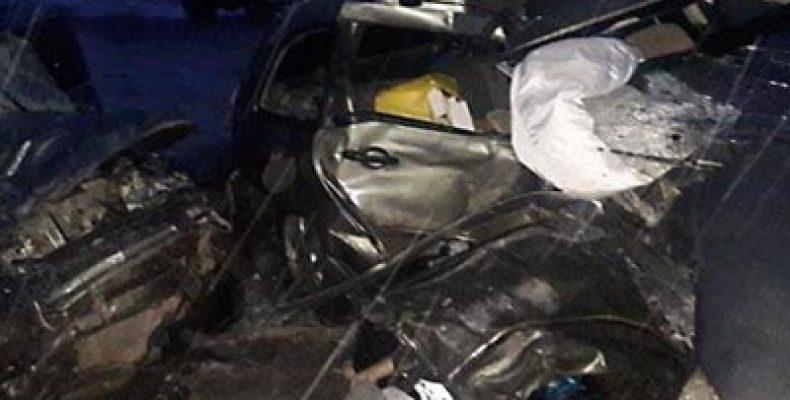 На трассе в Башкирии на трассе шесть человек погибли в ДТП