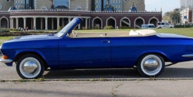 Казанец продает уникальную Волгу кабриолет с двигателем от Toyota почти за 900 тысяч рублей