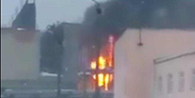 В Казани на заводе «Казаньоргсинтез» произошел пожар