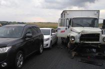 10-летний ребенок пострадал при столкновении четырех автомобилей в Башкирии