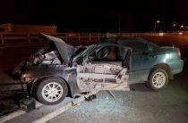 В Башкирии водитель на «Киа» на большой скорости врезался в грузовик, погибла два человека